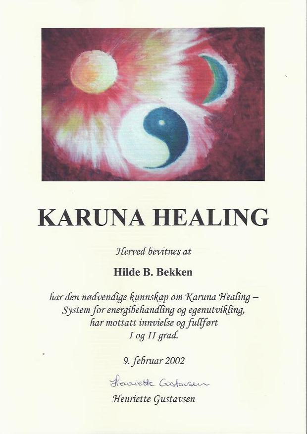 Karuna Healing